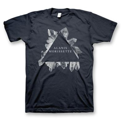 Alanis Morissette Gem Triangle T-Shirt - Men's (Midnight Navy)