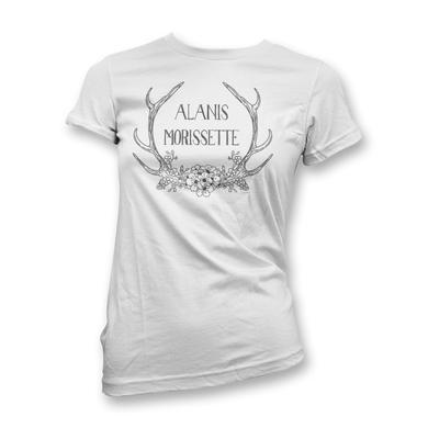 Alanis Morissette Antlers T-Shirt - Women's