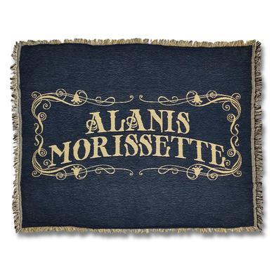 Alanis Morissette Americana Woven Blanket