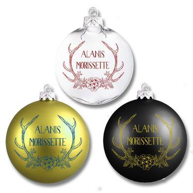 Alanis Morissette Antlers Ornament Set