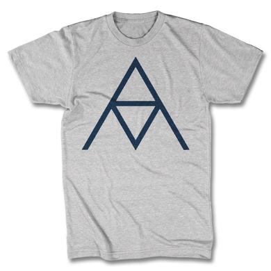 Alanis Morissette AM Logo T-shirt - Men's (Heather Silver)