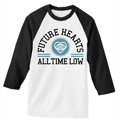 All Time Low Future Hearts Baseball Tee
