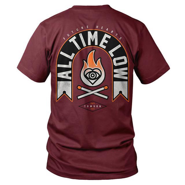All Time Low Matchsticks T-shirt