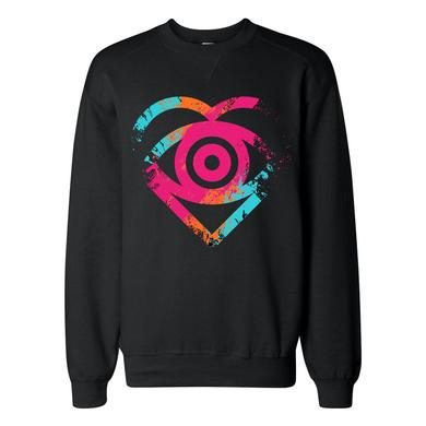 All Time Low Painted Eye Crewneck