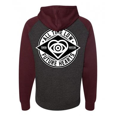 All Time Low Contrast Pullover Hoodie