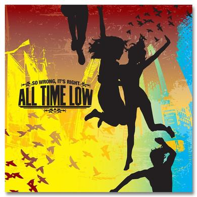 All Time Low So Wrong, It's Right CD