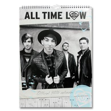 All Time Low 2016 Calendar