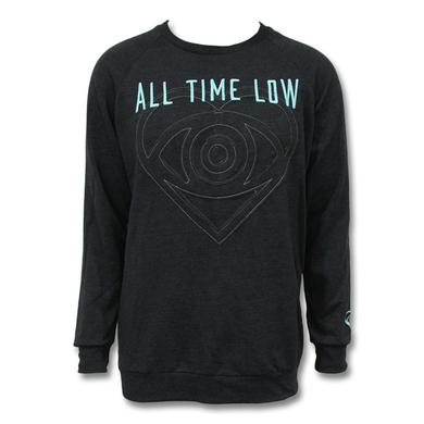 All Time Low Embroidered Logo Crewneck Sweatshirt