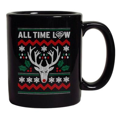 All Time Low Rudolph Holiday Mug