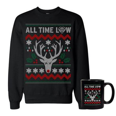 All Time Low Sweatshirt & Mug Holiday Bundle