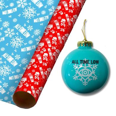 All Time Low Ornament & Gift Wrap Bundle