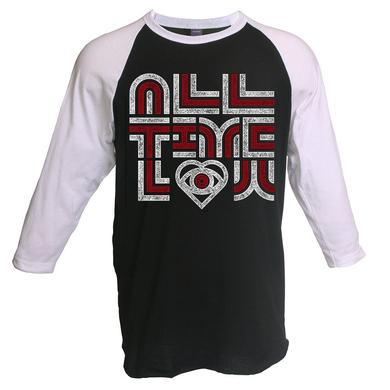 All Time Low 70's Baseball Tee