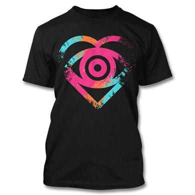 All Time Low Painted Heart T-shirt