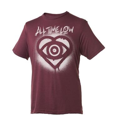 All Time Low Stencil Slim T-shirt