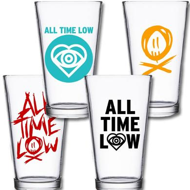 All Time Low Pint Glass Set