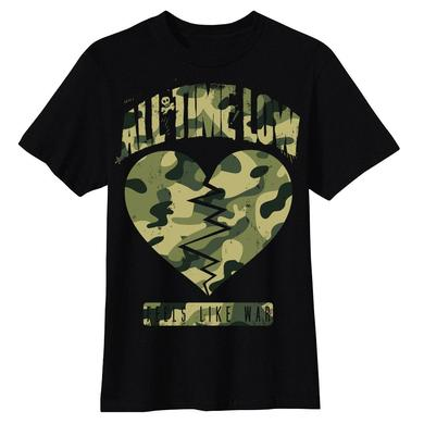 All Time Low Big Broken Heart T-shirt