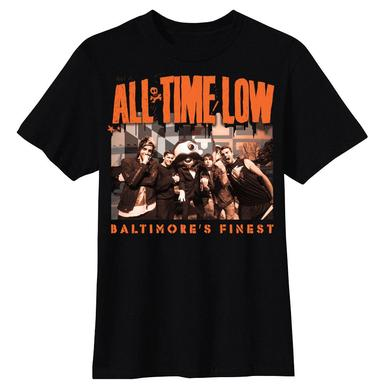 All Time Low Baltimore's Finest T-shirt