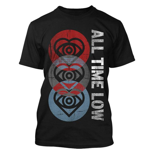 All Time Low Three Hearts T-shirt