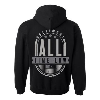 All Time Low Baltimore Lines Zip Up Hoodie