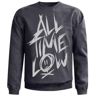 All Time Low Scratch Crewneck Sweatshirt
