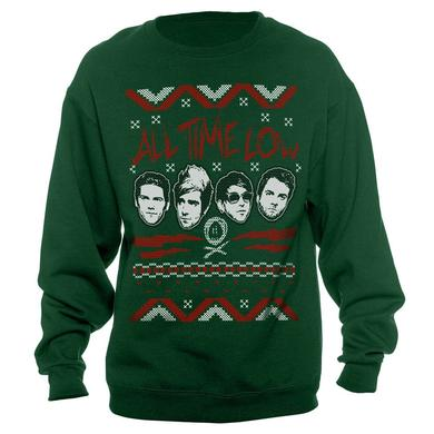 All Time Low Bro Flakes Holiday Crewneck