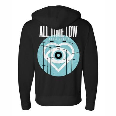 All Time Low Future Hearts Zip Up Hoodie