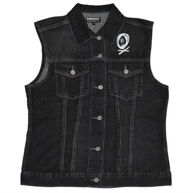 All Time Low Scratch Denim Vest