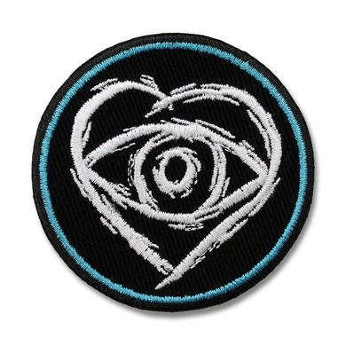 All Time Low Embroidered Heart Eye Patch