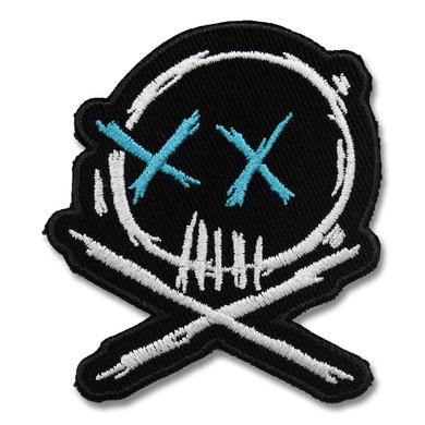 All Time Low Embroidered Skull Patch