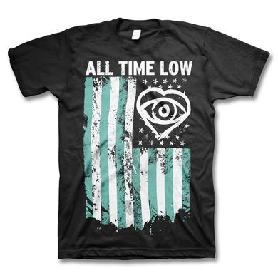All Time Low Flag T-shirt
