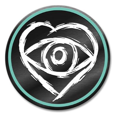 All Time Low Heart Eye Lapel Pin