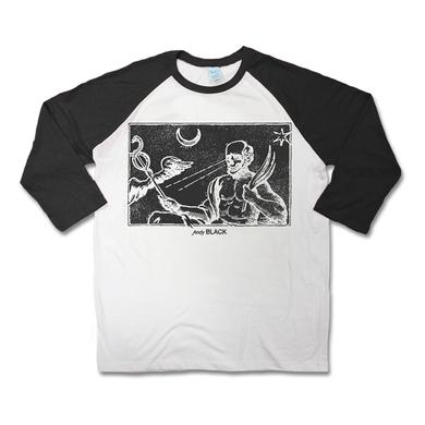 Andy Black Tarot Raglan
