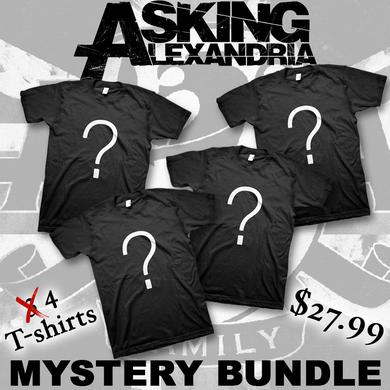 Asking Alexandria Men's Mystery T-shirt Bundle (4 shirts)