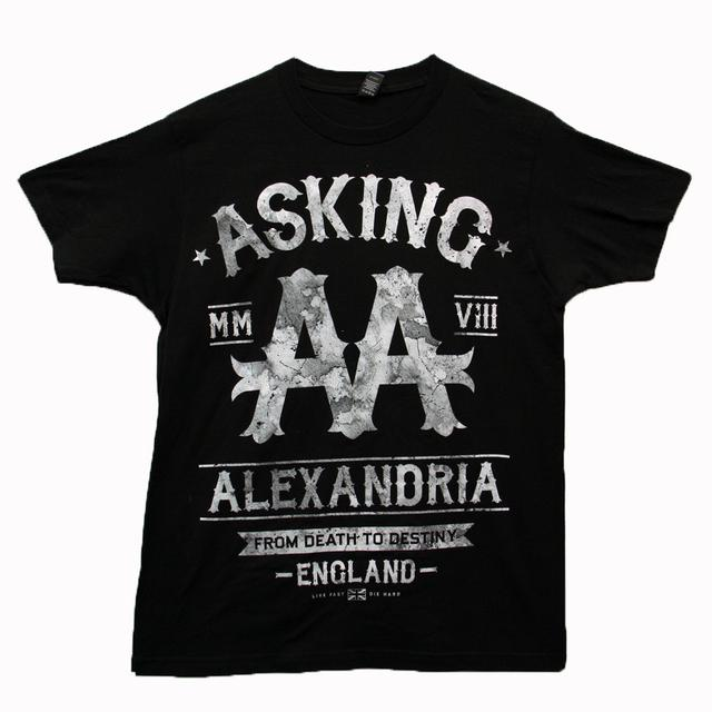Asking Alexandria Black Label Tour T-shirt