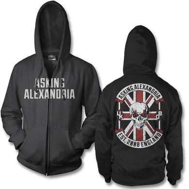 Asking Alexandria Rebel Zip Up Hoodie