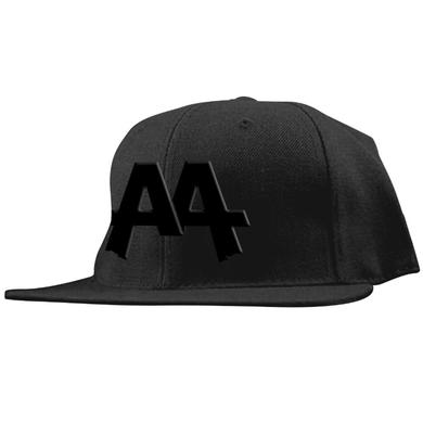 Asking Alexandria Black on Black Snapback Hat