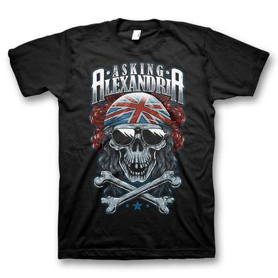 Asking Alexandria Grey Skull T-Shirt