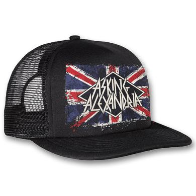 Asking Alexandria Union Jack Trucker Hat