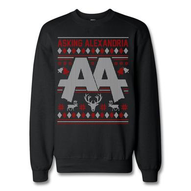 Asking Alexandria Holiday Crewneck Sweatshirt