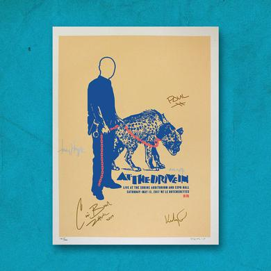 At The Drive-In Limited Shrine Auditorium Signed Print