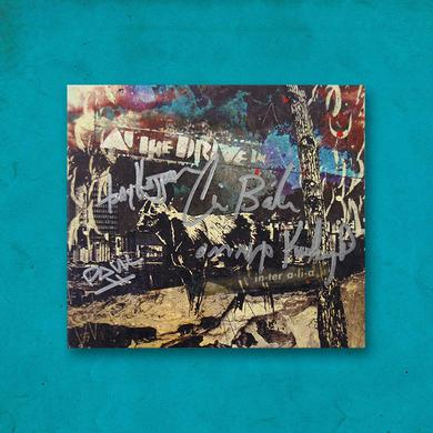 At The Drive-In Limited IN•TER A•LI•A Signed CD