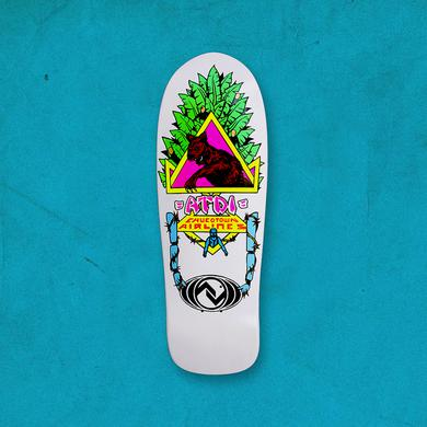 At The Drive-In Chucotown Airlines Skate Deck