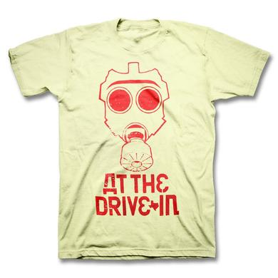 At The Drive-In Gas Mask Outline T-shirt
