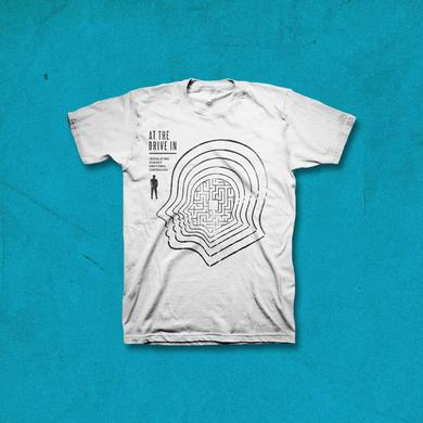 At The Drive-In Catscan T-shirt - White