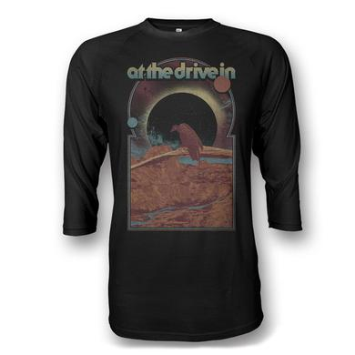 At The Drive-In Vulture Raglan - All Black