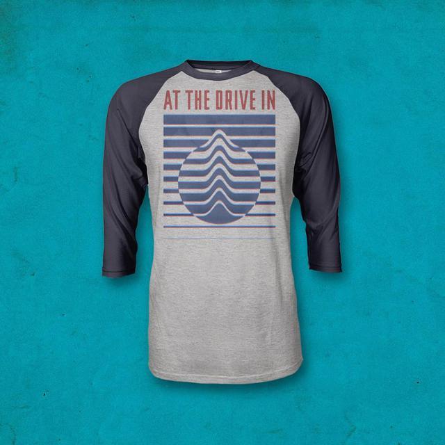 At The Drive-In Shape Phase Raglan Shirt