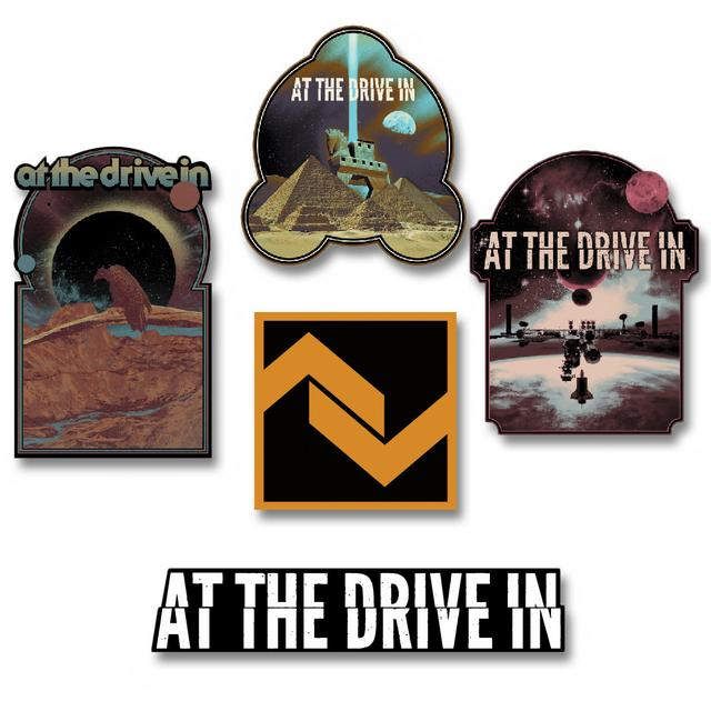 At The Drive-In Dye Cut Sticker Pack