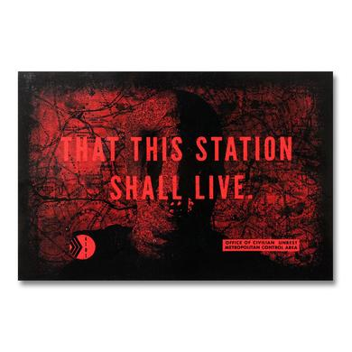 At The Drive-In Station Sticker