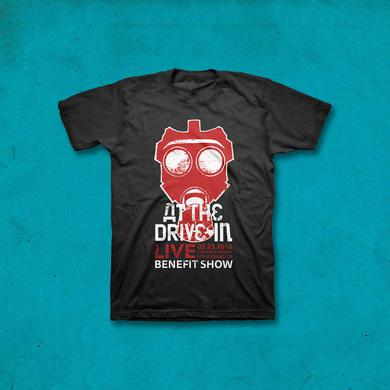 At The Drive-In Red Mask Benefit Show T-shirt