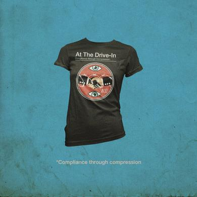 At The Drive-In Handshake T-shirt - Women's